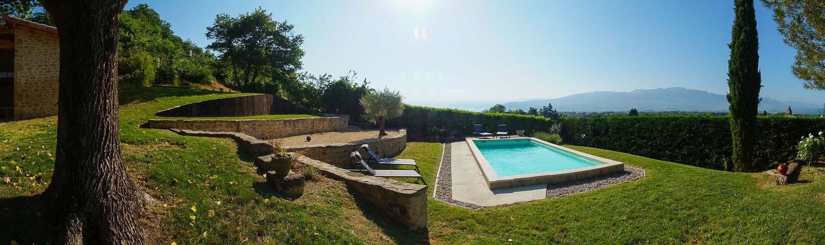 Location g tes is re location chambres d 39 h te vacances for Piscine st gervais